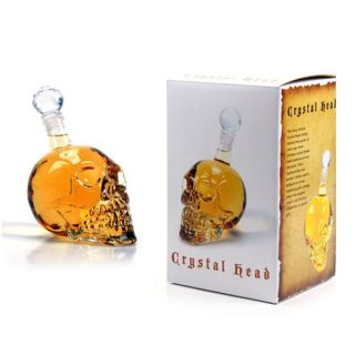 Crystal Head Vodka Bottle A Special Gift   Water Clear