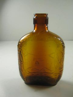 Old Brown Half Pint John Paul Jones Liquor Bottle