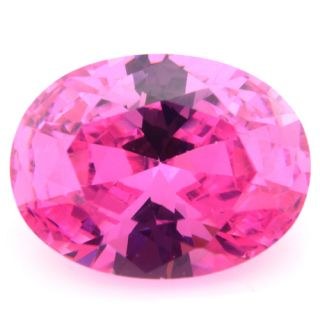 Oval Cut 18 13mm Pink Cubic Zirconia Russia Loose CZ Stone