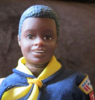 Kenner Dave Cub Scout Doll 1975 Scouting BSA Doll in Uniform Vintage