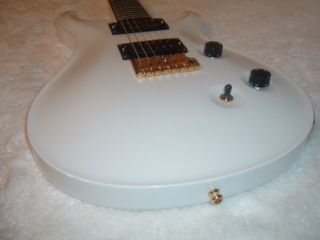 Paul Reed Smith Dave Navarro White Custom 24 Electric Guitar OHSC