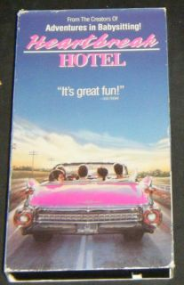 Heartbreak Hotel David Keith Tuesday Weld VHS