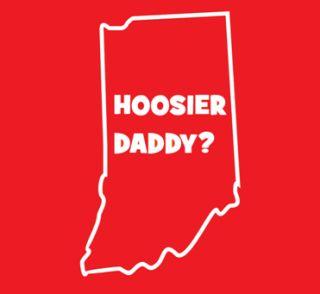HOOSIER DADDY T Shirt 3XL indiana funny university joke XXXL