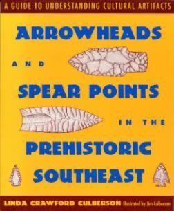 Arrowheads Spear Points Southeast Book Indian Artifacts