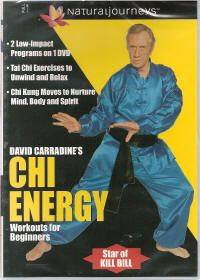 David Carradine Tai Chi Kung Energy Beginners New DVD 743457192323