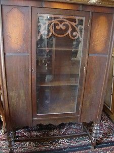 Curio Cabinet Vitrine by Ebert Furniture Company of Red Lion Penna