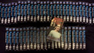 DARK SHADOWS~COMPLETE SERIES PLUS BONUS~55 VHS TAPES~