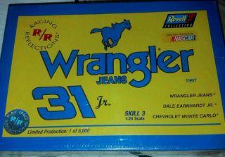 Revell 31 Dale Earnhardt Jr Wrangler Model Car KIT NASCAR FACTORY