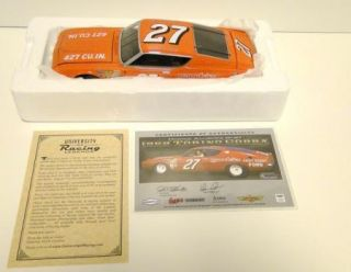 1969 Donnie Allison 27 1 24 Scale East Point Ford Torino Cobra Diecast