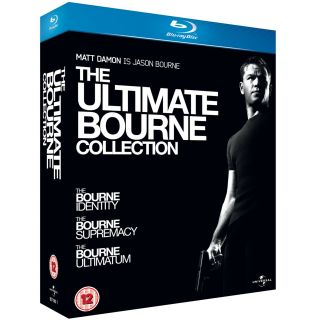 NEW The Bourne Trilogy Ultimate Collection [Blu ray, 3 Disc Box Set