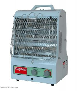 New Dayton Electric Shed Garage Shop Heater 5 000 BTU W