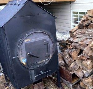 Waterless Outdoor Wood Furnace Easy Install Custom Design