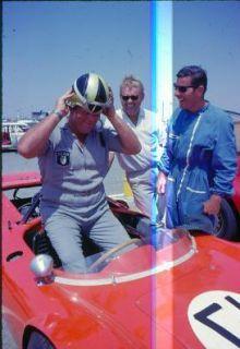 Dan Blocker Bonanza Star Racing Car Original Slide