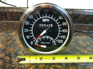 FOR HARLEY Davidson Custom SPEEDOMETER TACHOMETER TACH SPEEDO