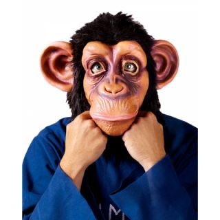 Chimp Mask as Seen in Bruno Mars Video Latex Adult Mask Official