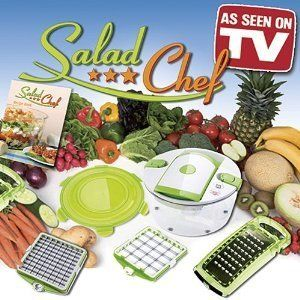 7 Piece Salad Chef Set as Seen on TV