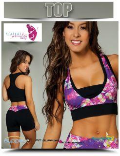 But Lifter Zumba Yoga Pilatessportwear Rave Choose Capri Pants Top