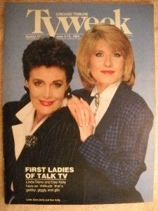 Linda Dano Dee Kelly Attitudes Chicago Tribune TV Guide Jun 4 1989