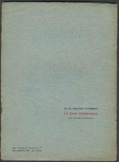 Ruben Dario Book Poemas 1st Edition 1920 America