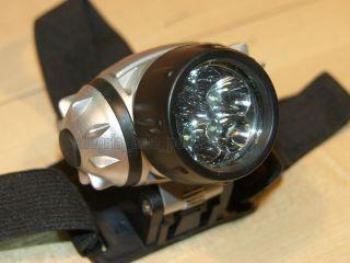 Linterna de Cabeza 5 LED Para Pesca Caza Bicicleta