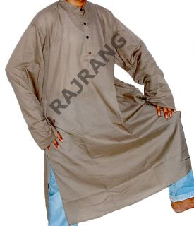 New Boho Yoga Cotton Men Kurta Shirt Casual Wear Indian Kurta ECL