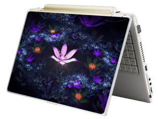 Monster Mini Netbook Laptop Notebook Skin Decal Lotus Pond