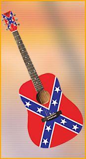 Eleca Acoustic Dreadnought Guitar Dag 5 Rebel Flag New