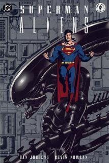 Superman vs Aliens Comic Book Dark Horse DC