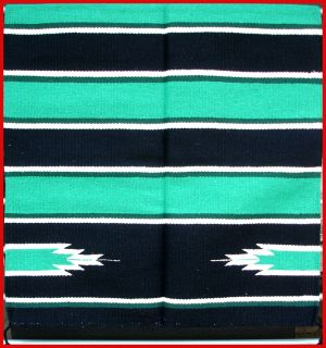 Southwestern Trailrider Design Saddle Blanket Throw Rug 30 X 60