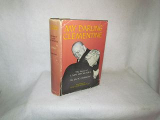 Vintage Book My Darling Clementine The Story of Lady Churchill by Jack