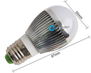 New 3W LED Warm White Decorative Light Wall Lamp 3x1W
