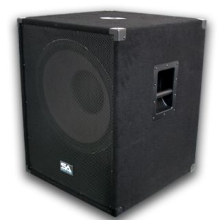 New 18 PA Subwoofer Speaker Cabinet 1000 Watts Church