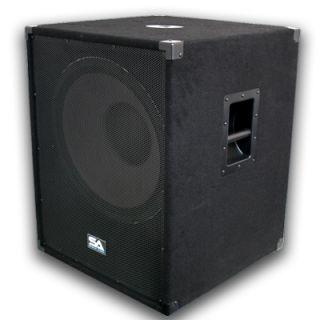 New 18 PA Subwoofer Speaker Cabinet 1000 Watts Church
