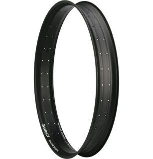 Custom New Surly Rolling Darryl Rear Wheel w Salsa Mukluk 2 Hub Black