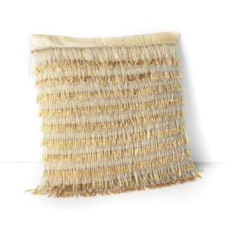 Classic Dancing Gold 9 x 9 Decorative Pillow Gold $188 00