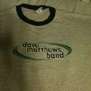 Dave Matthews Band Grey Concert T Shirt