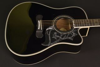 Epiphone Dave Navarro Signature Model Acoustic Electric   Practically