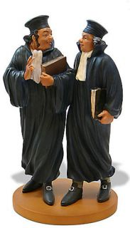 Honore Daumier Lawyer Consult Statue Figurine Sculpture