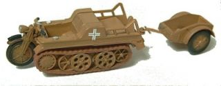 German WWII SdKfz 2 NSU Kettenkrad HK 101 Trident 90124 for 1 87