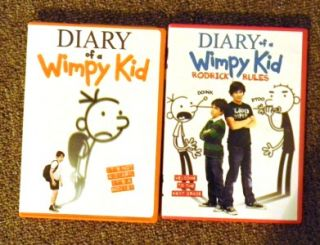 lot of 2 diary of a wimpy kid dvd s