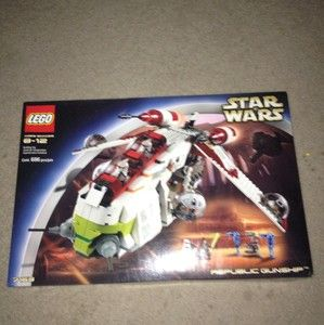 Lego Star Wars The Clone Wars Republic Attack Gunship 7676