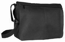 David King Leather Full Flap Messenger Bag Briefcase Business Case