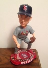 David Freese Bobblehead 2012 St Louis Cardinals Bobblehead LIMITED EDT