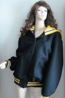 Womens DeLong Varsity Cheerleading Lettermans Jacket L