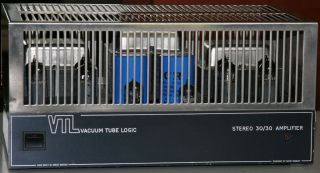 Logic VTL 30 30 Stereo Valve Power Amplifier by David Manley