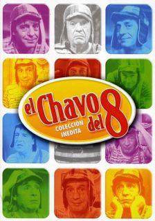EL CHAVO DEL 8 COLECCION INEDITA NEW DVD