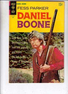 Daniel Boone 15 sric NM High Grade Wesern 1969