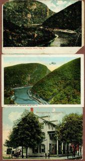Postcards Delaware Water Gap and Stroudsburg 1917