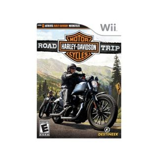 harley davidson road trip wii sealed brand new