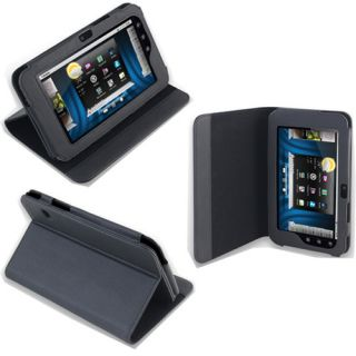 Leather Flip Book folio Stand Skin Case Cover for DELL Streak 7 Tablet